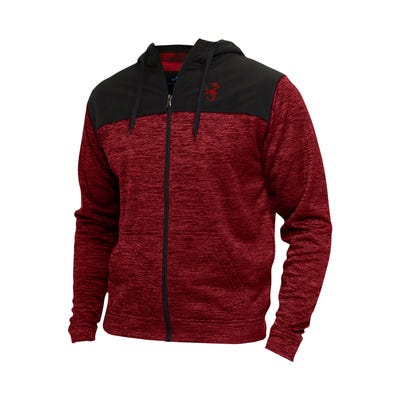 Abarth Men's Full Zip Fleece Hoodie