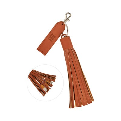 Tassel 3-in-1 Charging Cable Key Chain