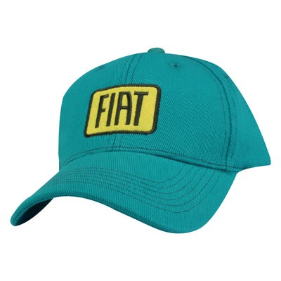 Teal Badge Cap
